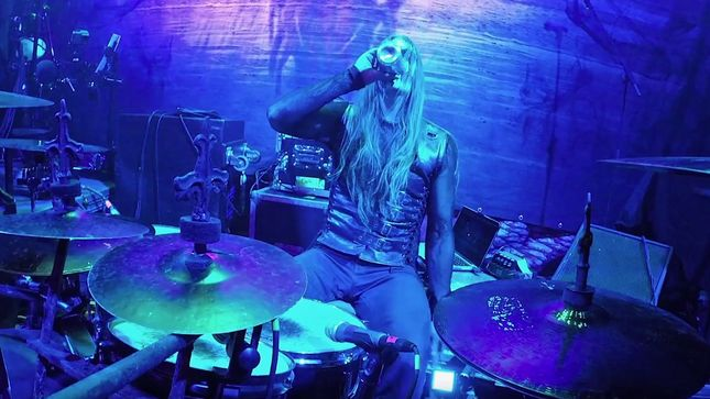 "CARACH ANGREN - ""Blood Queen"" Live Drum Video Streaming"