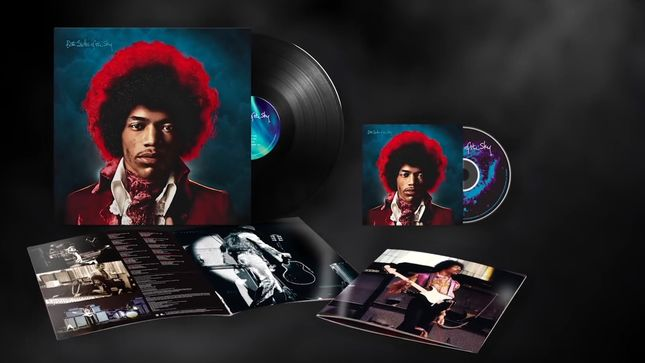 JIMI HENDRIX - Video Trailer Launched For Upcoming Both Sides Of The Sky Release