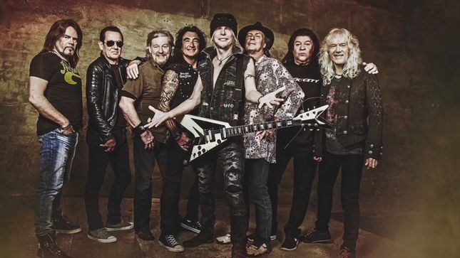 MICHAEL SCHENKER FEST - Resurrection Enters Album Charts Worldwide