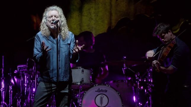 "LED ZEPPELIN Legend's ROBERT PLANT & THE SENSATIONAL SPACE SHIFTERS Premier Official Live Video For ""Carry Fire"""