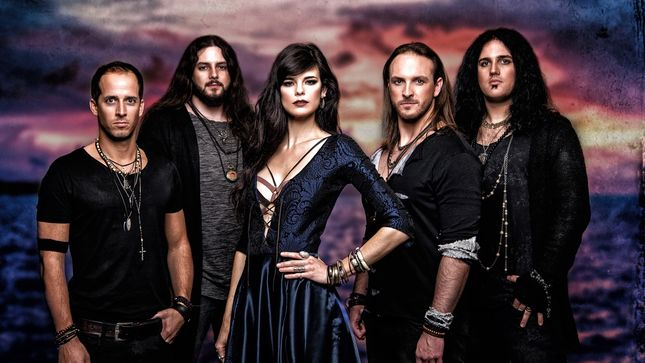 "Exclusive: VISIONS OF ATLANTIS Premier New Song ""The Deep & The Dark""; Audio"