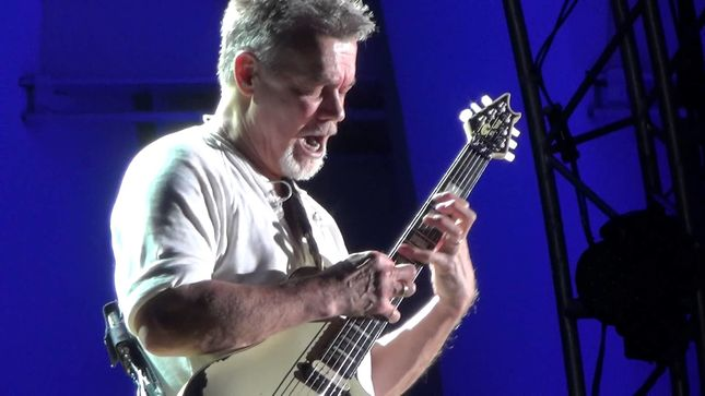 "ANNIHILATOR Frontman JEFF WATERS Pays Tribute To EDDIE VAN HALEN - ""He Changed Guitar And Rock Music Forever"""
