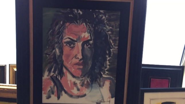 "PAUL STANLEY Talks KISS Paintings At Art Gallery Exhibit - ""If You Want The Original Guys To Be Reunited, That's How You Do It"""