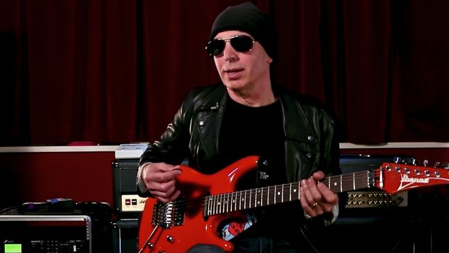 JOE SATRIANI - The Joe Satriani Guitar Method Episode 4: Intervals / Modes; Video
