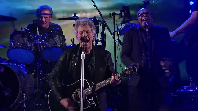 "BON JOVI Performs ""When We Were Us"" On CBS' The Late Show With Stephen Colbert; Video"
