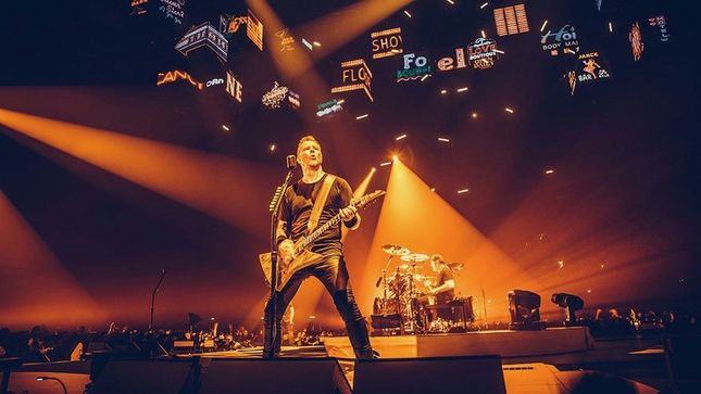 METALLICA Confirm Dates For WorldWired Tour 2018 - 2019