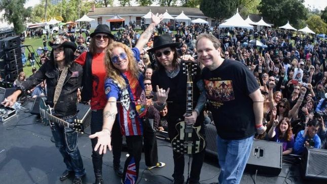 RONNIE JAMES DIO Cancer Fund Confirms Return Of STEVEN ADLER's All Star Band For Fourth Annual Ride For Ronnie