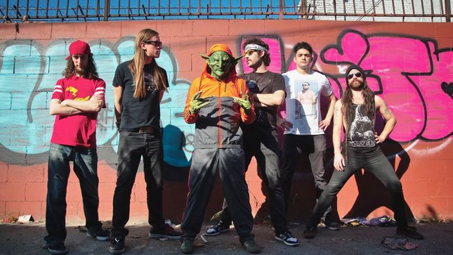 "NEKROGOBLIKON Team Up With BRENDON SMALL For Cinematic Music Video ""Dressed As Goblins"""