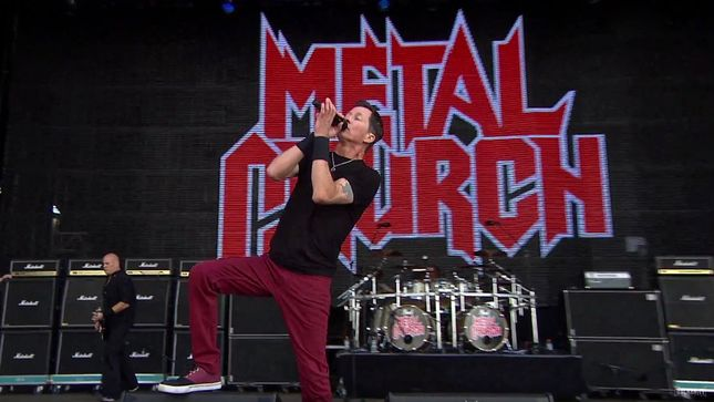 METAL CHURCH Live At Wacken Open Air 2016; Pro-Shot Video Of Full Performance Posted