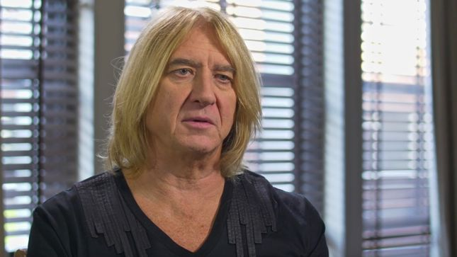 "DEF LEPPARD Singer JOE ELLIOTT On The Success Of Hysteria Album - ""We Wanted To Be Up There With THE BEATLES, THE STONES, THE WHO, PINK FLOYD, And LED ZEPPELIN""; Video"
