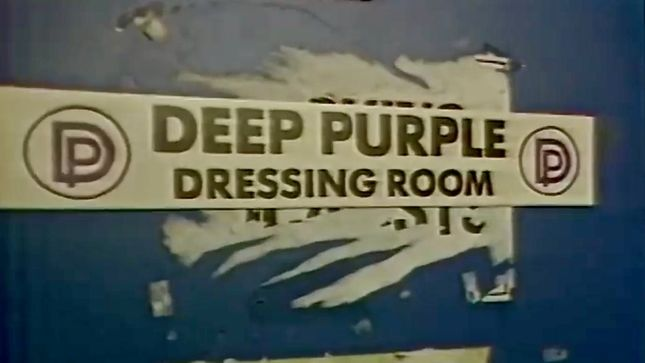 DEEP PURPLE - Rare 1987 Backstage Video From Infamous Wembley Concert Surfaces