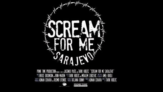 IRON MAIDEN Singer BRUCE DICKINSON's Scream For Me Sarajevo Gets Theatrical Release; Video Trailer Streaming