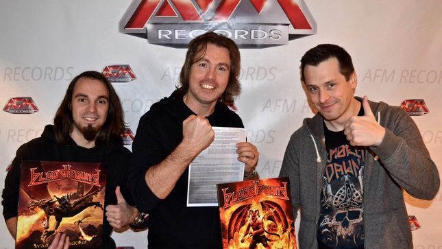 BLOODBOUND Extend Long-Term Deal With AFM Records; Vinyl Releases Of Early Albums Coming