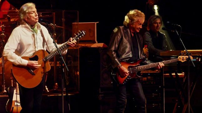 THE MOODY BLUES Launch Extended Video Trailer For Upcoming Days Of Future Passed Live Release