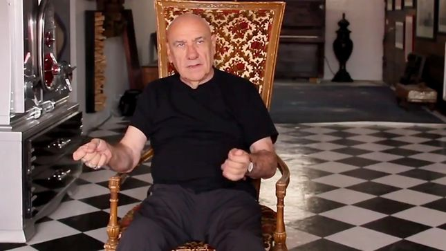 "BLACK SABBATH Drummer BILL WARD On Creating Poetry From His Artwork - ""What I've Participated In, In My Life, Has Been Quite Unique""; Video"