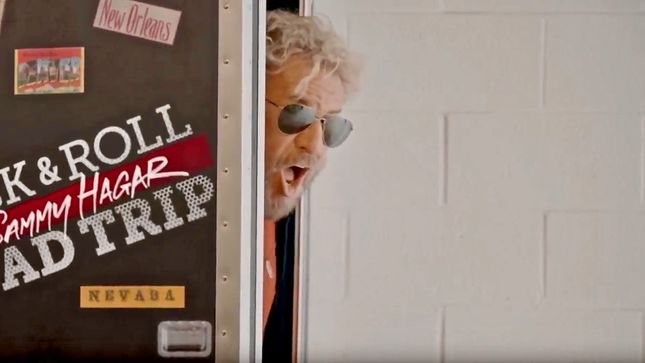 SAMMY HAGAR - New Video Trailer Released For Season 3 Of Rock & Roll Road Trip