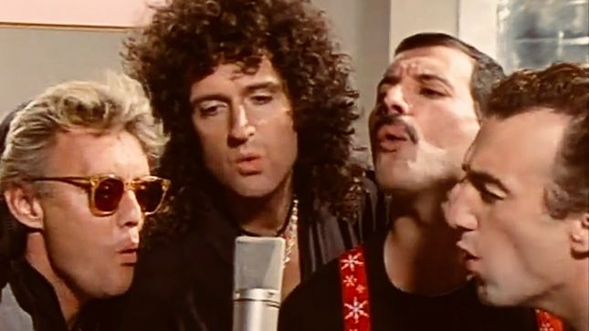 "QUEEN Release Karaoke-Style Lyric Video For ""One Vision"" (Extended Version)"