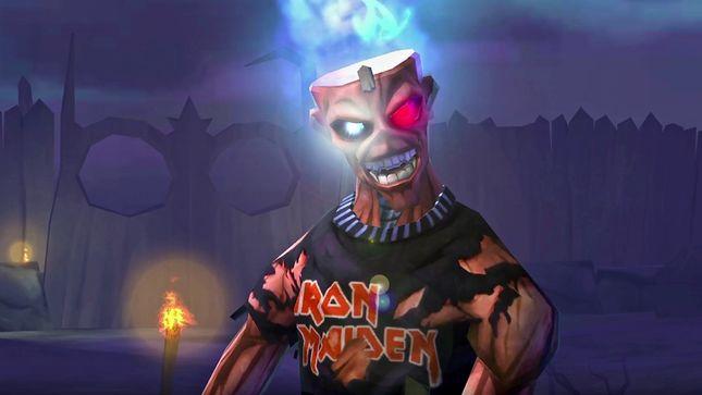 IRON MAIDEN - Iron Eddie Shreds; Legacy Of The Beast Game