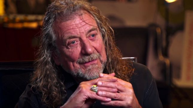 "ROBERT PLANT Talks LED ZEPPELIN's ""Stairway To Heaven"" - ""I Can't Remember What Verse Goes Where..."" (Video)"
