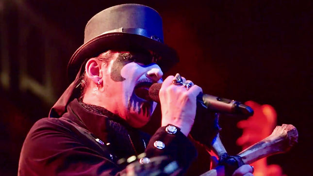 KING DIAMOND Talks Forthcoming Double Live DVD / Blu-Ray