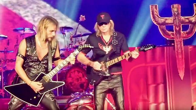 GLENN TIPTON Back On Stage With JUDAS PRIEST In Kent, Washington; Video