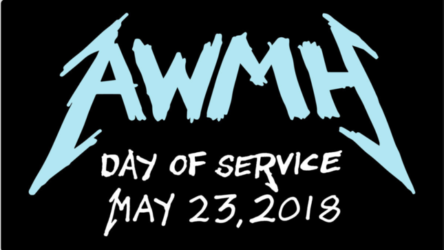 METALLICA's All Within My Hands Foundation Announces First Day Of Service On May 23rd; Video