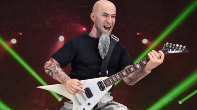 ANTHRAX Guitarist SCOTT IAN Gets The Action Figure Treatment; Includes Walking Dead Zombie Head Accessory