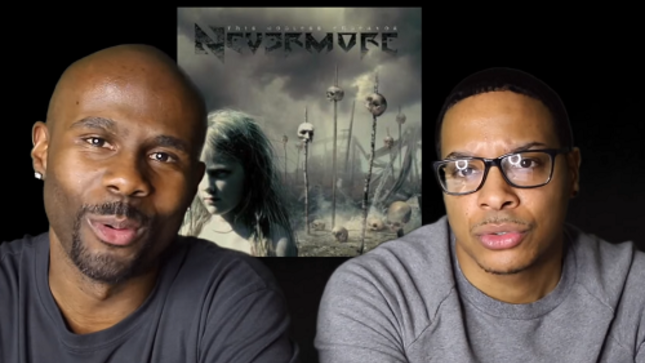 "NEVERMORE - Lost In Vegas Reacts To ''This Godless Endeavor'' - ""Is He Saying He Doesn't Believe In God?"""