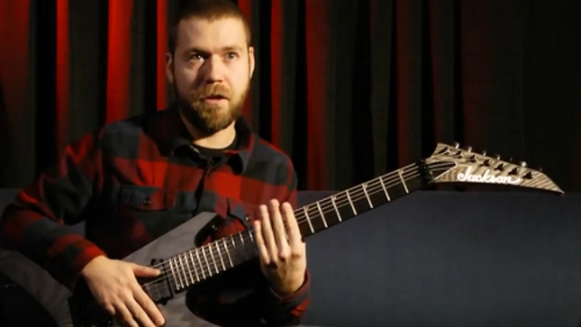 "REVOCATION - DAVE DAVIDSON Talks His Jackson Signature Pro Series Guitar In New Video - ""A Lot Of Attack"""