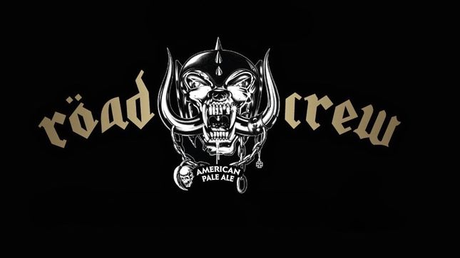MOTÖRHEAD Röad Crew Beer Breaks New Ground In The US; Announcement Video Streaming