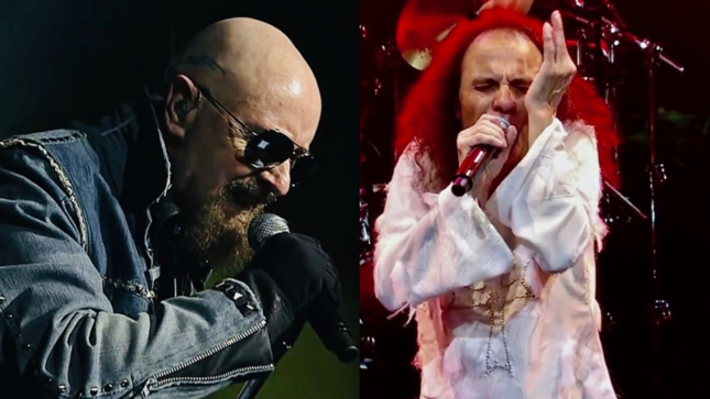 WENDY DIO Gifts ROB HALFORD With RONNIE JAMES DIO's Ring; Photo