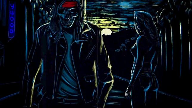"GUNS N' ROSES Premier Official Lyric Video For Unreleased Song ""Shadow Of Your Love"""