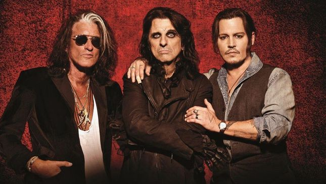 HOLLYWOOD VAMPIRES To Headline ALICE COOPER's 17th Annual Christmas Pudding Concert