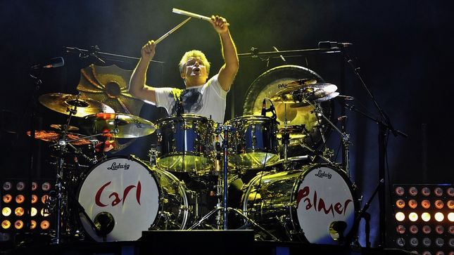 CARL PALMER - Video Preview Of This Weekend's Art Showcase