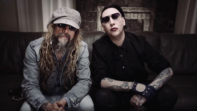 Rob Zombie And Marilyn Manson Promote Twins Of Evil The