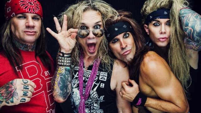 steel panther guitarist satchel unlike a lot of bands we pay special attention to writing. Black Bedroom Furniture Sets. Home Design Ideas