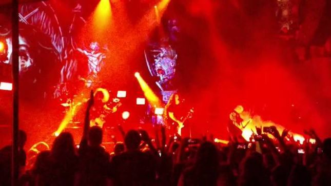 SLAYER - Fan-Filmed Video Of Entire Toronto Show Posted