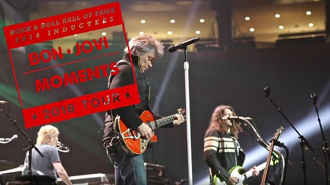 BON JOVI - This House Is Not For Sale Tour Recap Video #2: Favourite Moments