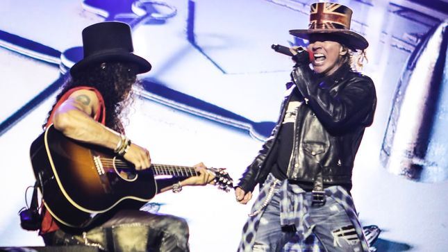 GUNS N' ROSES Reportedly Paid £5 Million For Download Festival Performance