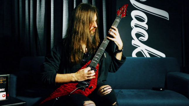 ALL THAT REMAINS Guitarist OLI HERBERT Offers Details On All-New Jackson USA Signature Limited Edition Rhoads Guitar