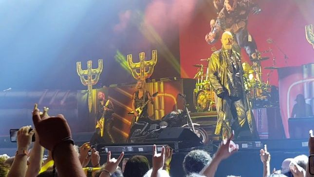JUDAS PRIEST - Fan-Filmed Video Of Entire Copenhagen Show Posted; GLENN TIPTON Performs During Three Song Encore