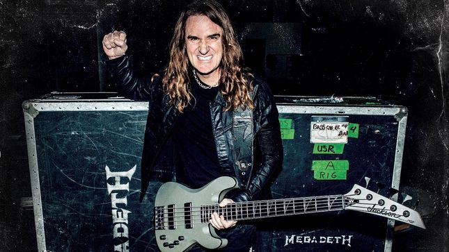 MEGADETH Bassist DAVID ELLEFSON Announces First Dates For His Basstory Tour