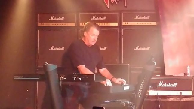 GREGG GIUFFRIA Reunites With ANGEL Bandmates PUNKY MEADOWS And FRANK DIMINO On Stage Is Las Vegas; Fan-Filmed Video Posted