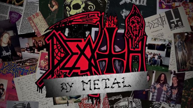 DEATH - Death By Metal Documentary Available On DVD This Friday; Video Trailer
