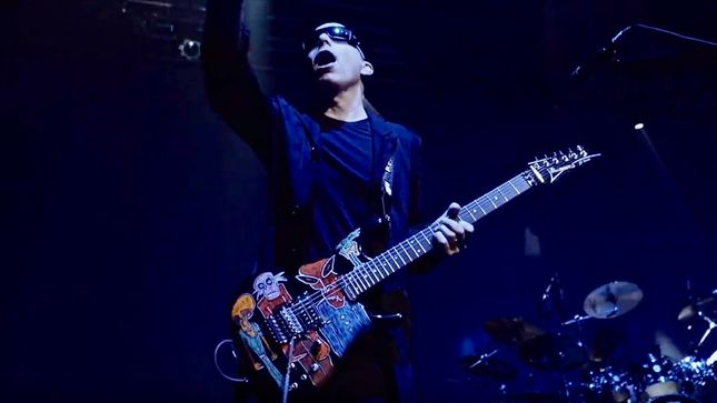 JOE SATRIANI Joins Forces With Stingray Qello For Release Of Beyond The Supernova Documentary; Sneak Peek Video