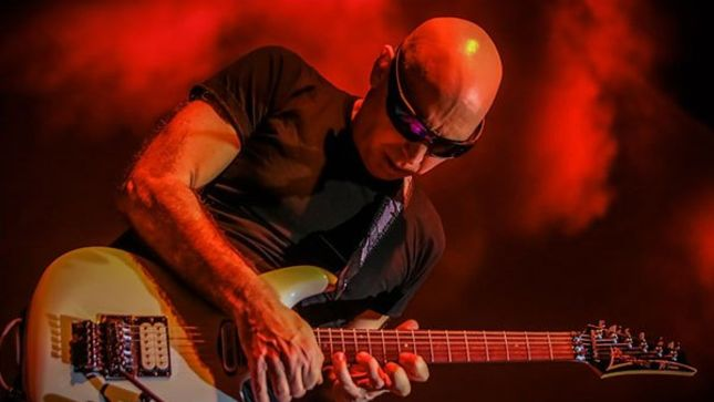 JOE SATRIANI Confirms New G4 Experience For January 2019 Featuring NEAL SCHON, RICK NIELSEN, BUMBLEFOOT And More; Video Announcement