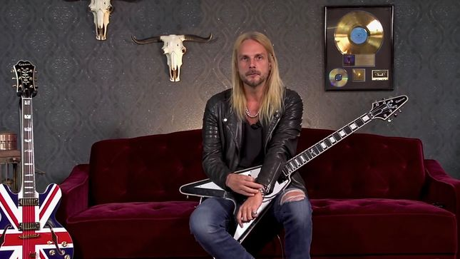 JUDAS PRIEST Guitarist RICHIE FAULKNER Discusses Main Influences And Techniques; New Speed Of Flight Episode Streaming (Video)