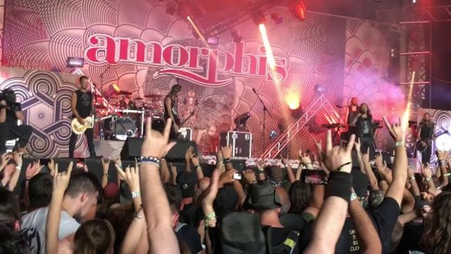 AMORPHIS - Pro-Shot Video Of Entire Hellfest 2018 Set Posted