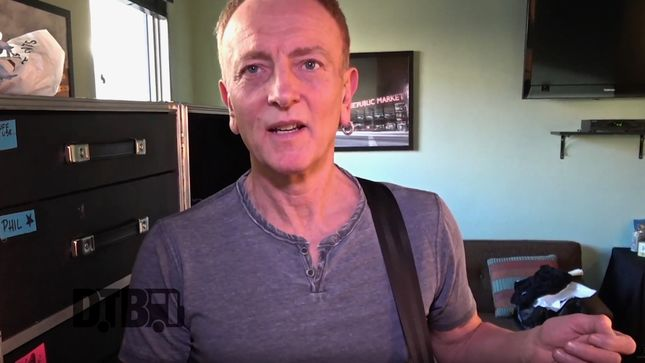 def leppard guitarist phil collen featured in new tour pranks episode we don 39 t want someone f. Black Bedroom Furniture Sets. Home Design Ideas