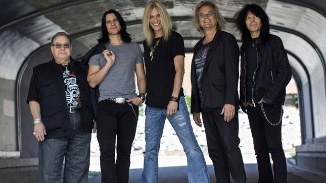 "THE GUESS WHO To Release The Future IS What It Used To Be Album In September; ""Playin' On The Radio"" Music Video Streaming; RUDY SARZO Featured In Band Lineup; Guests Include TOMMY SHAW, BRENT FITZ, MICHAEL DEVIN"